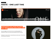 Clout - DOWNTEMPO DUO ANATÉ RETURNS WITH BREATHTAKING NEW SINGLE 'ONE LAST TIME'