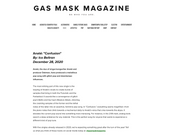 Confusion on Gas Mask Magazine