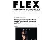 FLEX - Emerging Downtempo Due Anaté Release Emotive New Single 'One Last Time'
