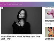 "Celebmix - Music Premiere: Anaté Release Dark ""One Last Time"""
