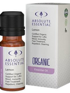 Lemon Oil Organic 10ml