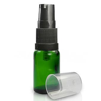 HiHi Herbal 10ml green lotion bottle