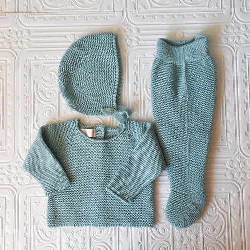 Conjunto jersey, polaina y capota agua