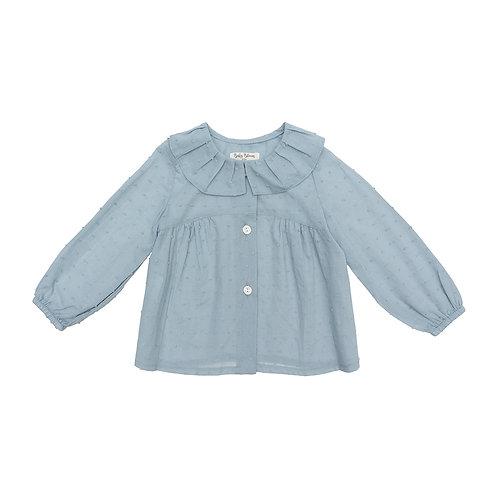 Camisa tablas plumeti azul