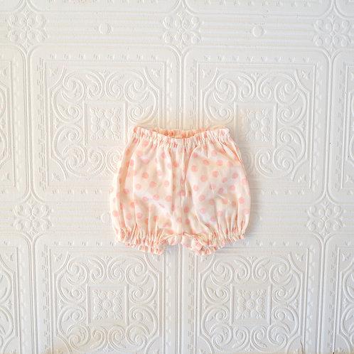 Cubre pañal bebé Pato topitos rosa