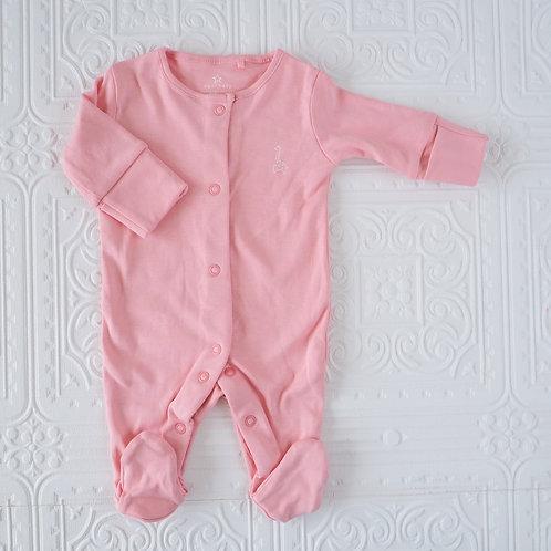 Pijama rosa fuerte