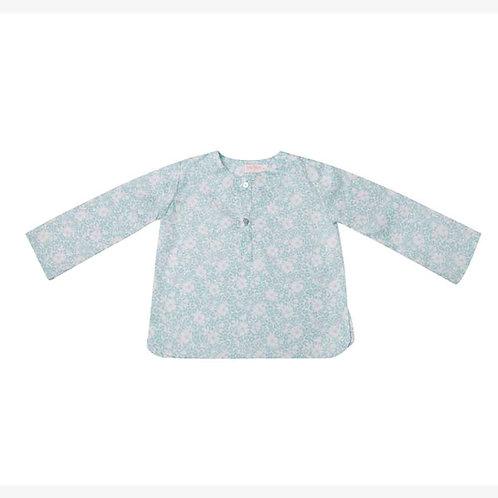 Camisa Felipe flor japonesa agua