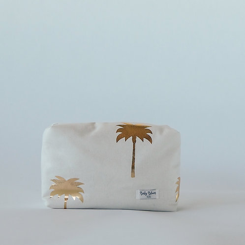 Neceser palmeras blanca