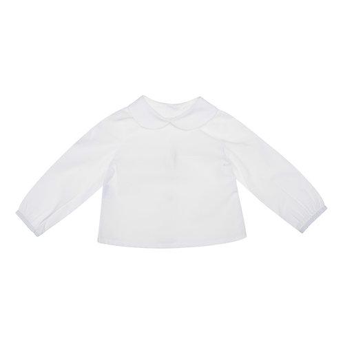 Camisa Lara voile blanca