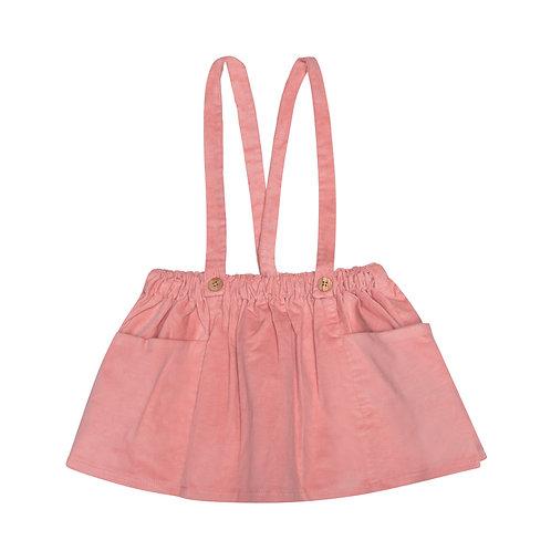 Falda pichi micropana rosa