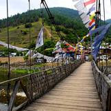 Bridge on river Sangti