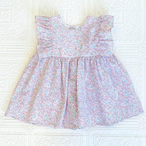 Camisa Mariposa mini flor pastel