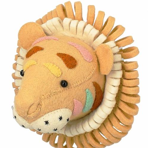 Cabeza tigre multicolor mini