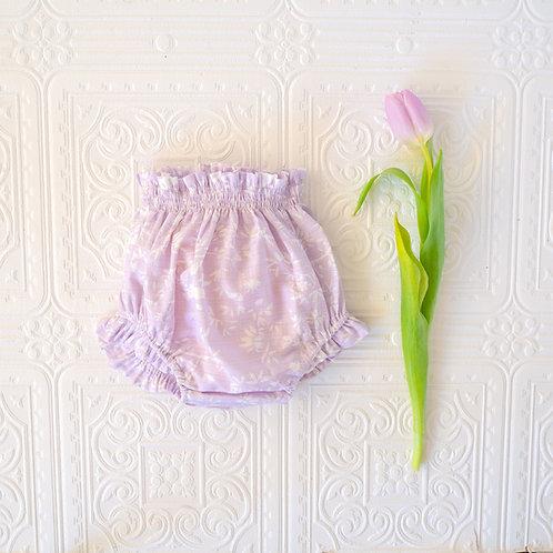 Braguita bebé Ernesto jackard pajaros lavanda