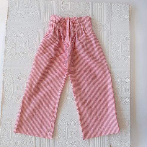 Pantalon Clarence rayitas rosa