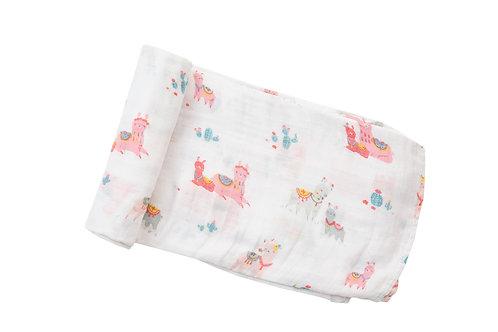 Gasa pink llama