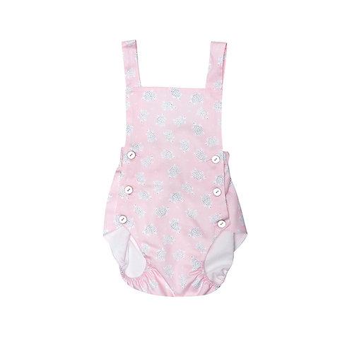 Pelele Baby tortugas rosa