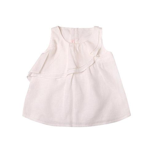 Camisa Alejandra lino blanca