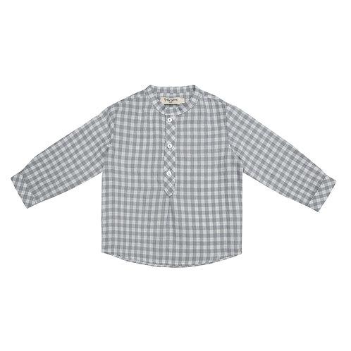 Camisa Pablo cuadros grises