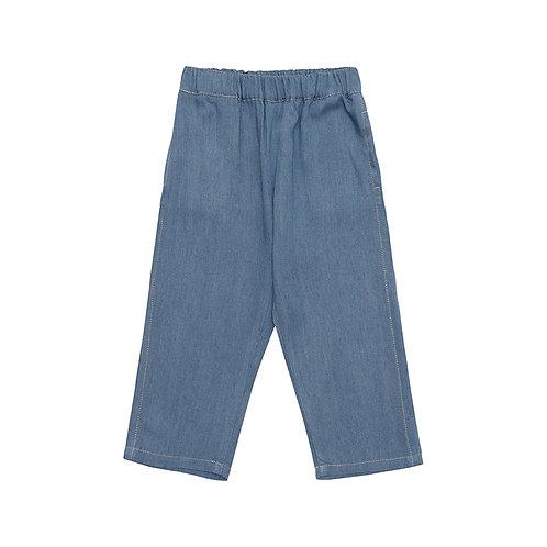 Pantalón cereza denim claro
