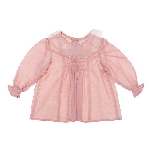 Camisa Luna voile rosa