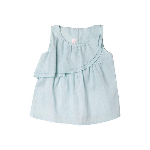 Camisa Alejandra lino agua