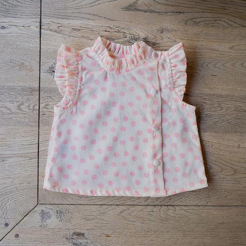 Camisa Mía topitos rosa