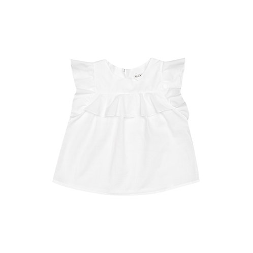 "Camisa Luna ""voile"" blanco"