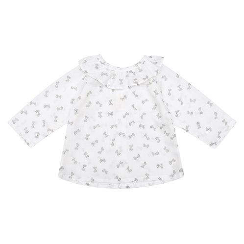 Camisa Maio lacitos blanca