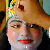 Traditional make-up
