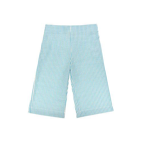 Pantalón Lemon raya turquesa