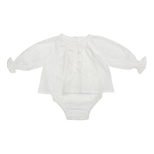 Camisa bodie Kika calada blanca