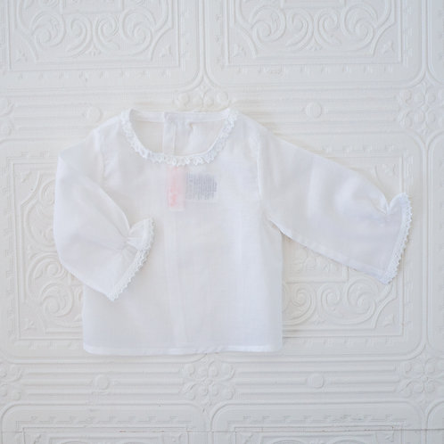 Camisa New Born batista blanca