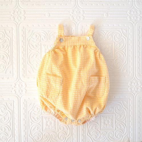 Peto  Chou vichy pequeño amarillo