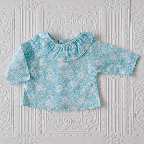 Camisa Maio flor japonesa agua