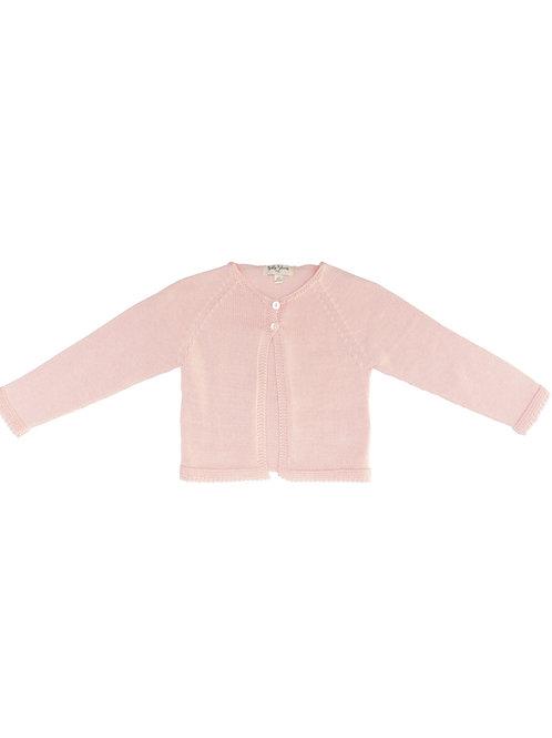 Rebeca punto dos botones rosa