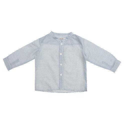 Camisa Pablo mini raya azul