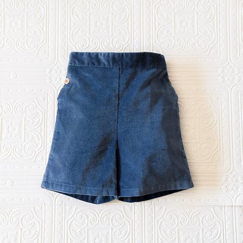 Pantalón London terciopelo azuló