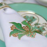 Plate & napkin