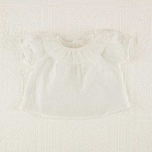 Camisa Jasmine bambula blanca