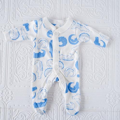 Pijama prematuro cocodrilos