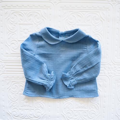 Camisa Lara bambula azul