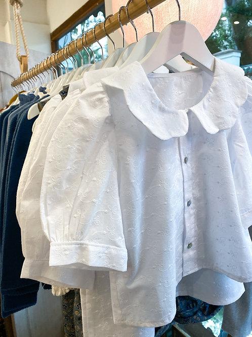 Camisa Roberta calada blanca