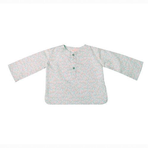 Camisa Felipe corales agua