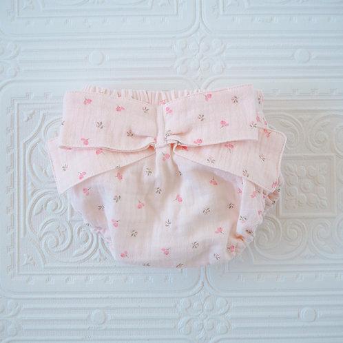 Braguita lazo flor silvestre rosa