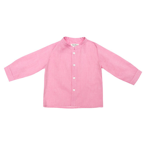 "Camisa Pablo ""voile"" frambuesa"