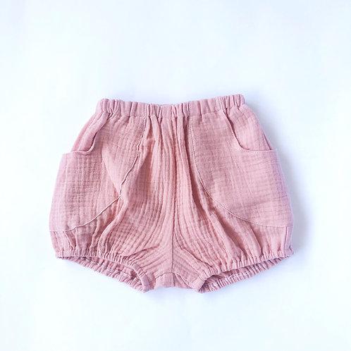 Short Lidia gasa rosa