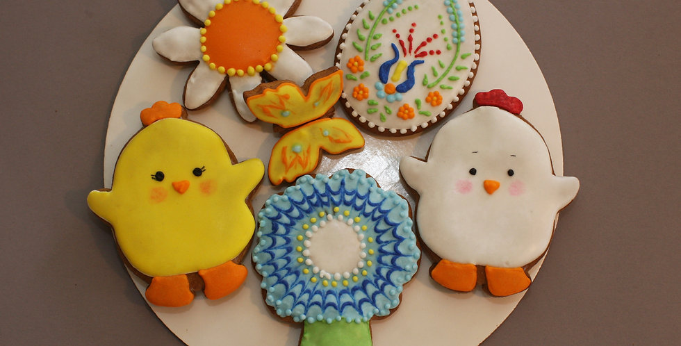 Assorted cookies (butterfly)