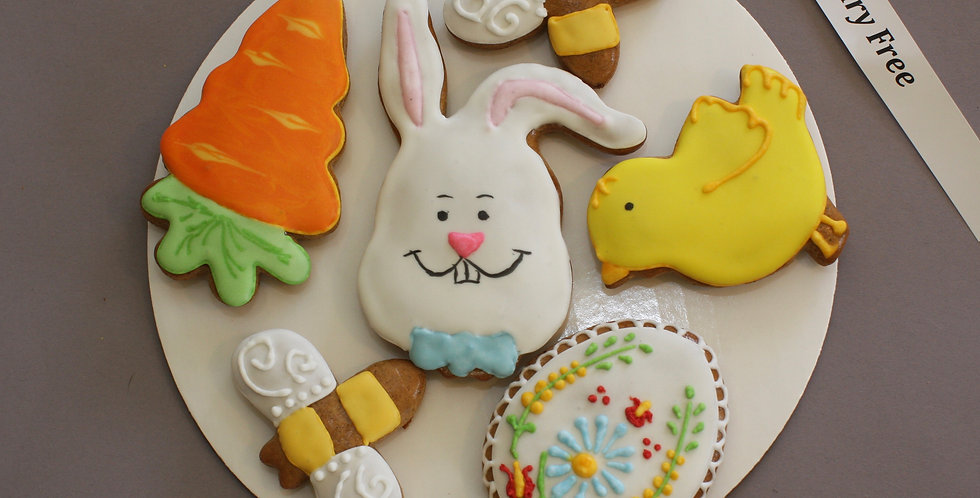 Assorted cookies (carrot - dairy free)