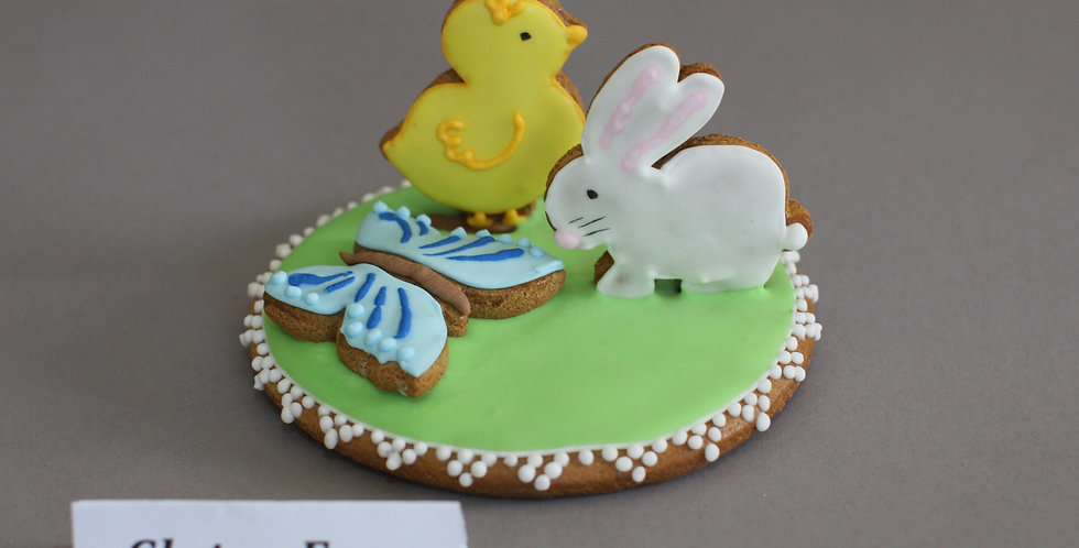 Chick and bunny (gluten free)